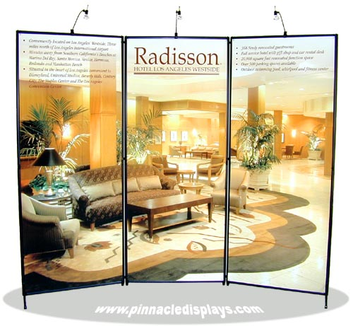 Trade Show Booth Options : Pinnacle displays sample trade show display exhibit booths