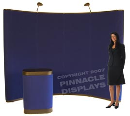 10ft popup trade show displays
