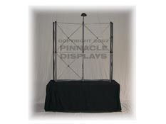 Eclipse 6ft tabletop pop-up trade show display frame
