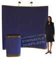 8 ft pop up trade show display