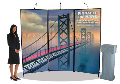 Signature custom-printed graphics trade show displays