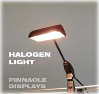 Eclipse trade show display 150 watt halogen display light