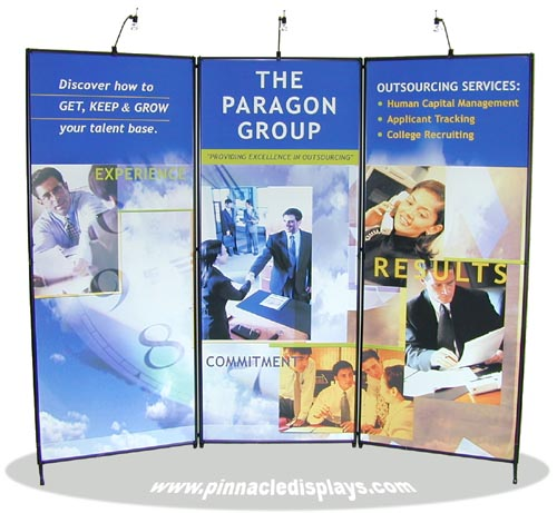Pinnacle Displays Sample Trade Show Display Exhibit Booths