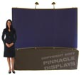 8 ft pop up table top trade show display